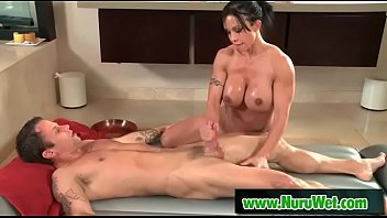 Milf masseuse with huge boobs blows during nuru massage – Alan Stafford, Jewels Jade