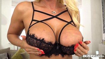 Busty seduction Lucy Zara shows off her masturbation skills in glamour land 11 min