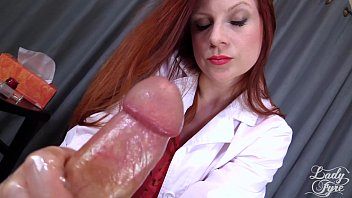 Doctor's Viagra Boner Cure: FULL VIDEO HJ by Lady Fyre femdom 11分钟
