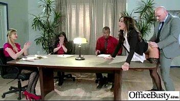 (stephani Moretti) Big Boobs  Slut Office Girl In Hardcore Sex Act Video-29