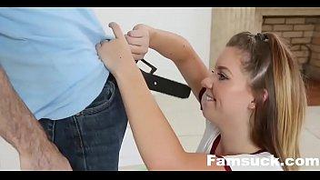 Nerdy Stepbro Seduced By Horny sister| FamSuck.com