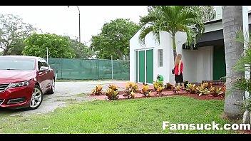 Nerdy Stepbro Seduced By Horny sister| FamSuck.com pornhub video