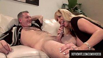 Big Tits MILF Wife Olivia Parrish Fucks an Old Man and Lets Cuckold Watch 8 min