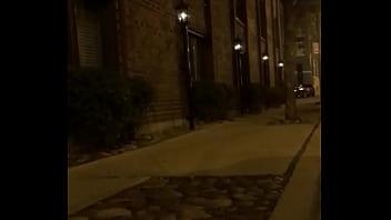 Thong flashing Chicago