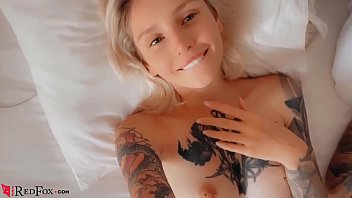 Passionate about tattoos, she sucks cock and has unprotected sex