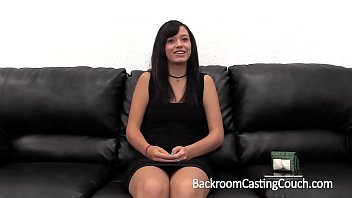 Backroom facials fanny Amateur big cum facial on casting couch