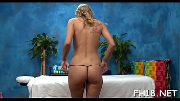 Hot babe plays with jock
