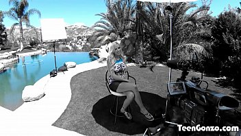 TEENGONZO Blonde MILF Nina Elle penetrated hard in all poses Image