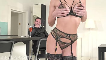 EvilAngel - French Babe Clea Gaultier Ass Pussy & Mouth Fucked 22 min