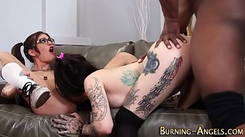 Goth whores riding bbc