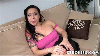 Asian kimmi hand slut - Strokies kimmy lee handjob
