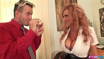 Streaming Video Busty redhead Sharon Pink is a dream secretary that loves titty fucking - XLXX.video