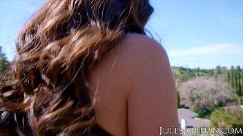 Jules Jordan - Big tit MILF Ava Addams is a Bra Buster!