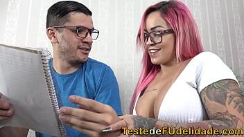 Fucked the teacher in the private class - Lolla Martinelli x Big Paulo Marcelo