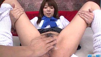 Miyu Aoi Asian Schoolgirl Plays With Pussy On Cam