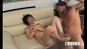 Babe with tattoos gets dick 387