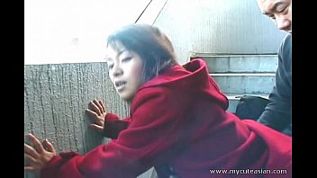 Amateur cute tgp Cute asian giving a hot outdoor blowjob
