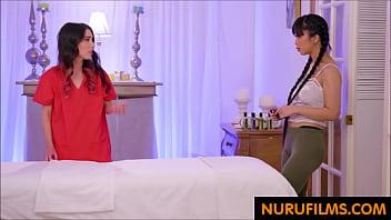 big tits asian gets special massage thumbnail