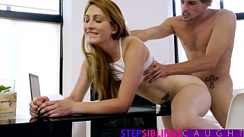 StepSiblingsCaught - Stepsis Tutors Brother In Fucking
