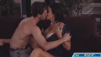 brunette mom fucks a young guy