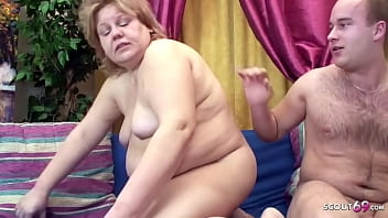 Ugy Fat Granny Seduce to Tabu Fuck by Step Grandson