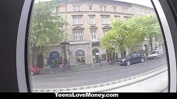 TeensLoveMoney - Russian Babe (Gina Gerson) Fucks Stranger For Money 8 min
