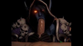 Sylvanas warcraft porn of world Her Queen