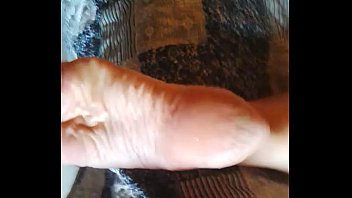 Foot fetish aunt - Cum on aunt soles