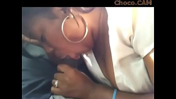 Cheating Black Girl Giving Head In The Car - EBONYS ON CAM: Choco.CAM