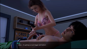 23 - Milfy City - v0.6e - Part 23 - Stepsister is sneaking in my room at night (dubbing)