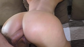 Son fucks mom in the ass and inserts his cock deep