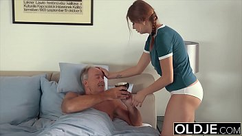 Holly fuck grandpa puts his cock inside young pussy 11 min