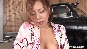 Traditional asian tattooo artists Traditionally dressed japanese redhead toys her pussy in the garage