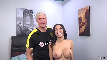 BUSTY PUERTO RICAN BABE Shay Evans Get Railed!