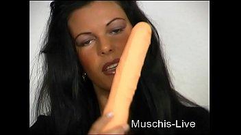 Beautiful dutch girl fingers her asshole for you