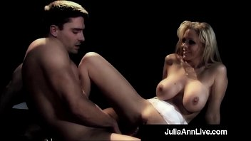 Big pusy mature - Milf queen julia ann gets anal fucked on stage