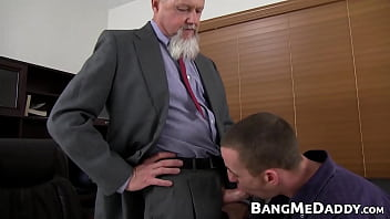Could gay man sign that - Old manager barebacking the handsome office newbie