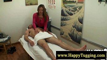 Sensual asian cock massage 6 min