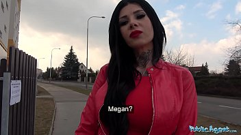 Public Agent Big Tits and tattoos fucked outside 8 min
