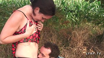 Young petite french brunette sodomized in nature 36 min