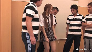 Japanese Schoolgirl Fucks Her Classmates