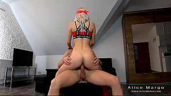 Amateur Couple in Standing Scene! AliceMargo.com