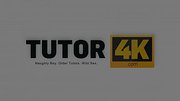 TUTOR4K. Tried to finish a college, but finished in my tutors mouth
