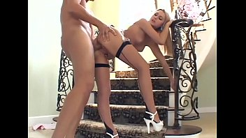 Big teen thighs movies Blonde sex in seamed stockings and a garter belt