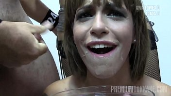 Can pre cum contain sperm - Premium bukkake - silvana swallows 65 huge mouthful cumshots