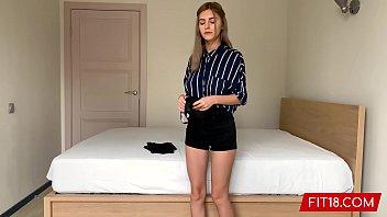 Fit18 - Eva Elfie - 44Kg - Casting Shy Young Teen With Big Natural Tits