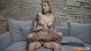 Perla The MILF Wants Her TIGHT ASS Drilled By An ENORMOUS COCK!