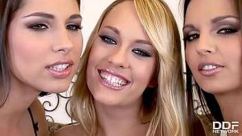 Eve Angel's Hot Lesbian Threesome