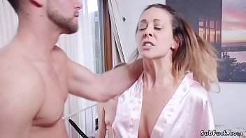 Seths cock he said - Dude fucks step mom and her student