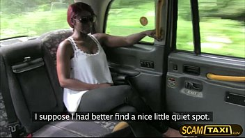 Ebony Jasmine gets her pounded by the driver in the backseat Thumb